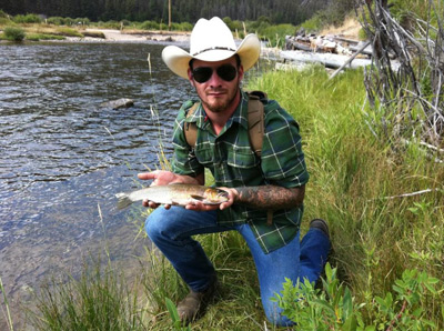 guided fly fishing in Montana
