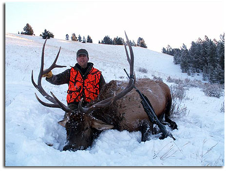 Elk hunt private land